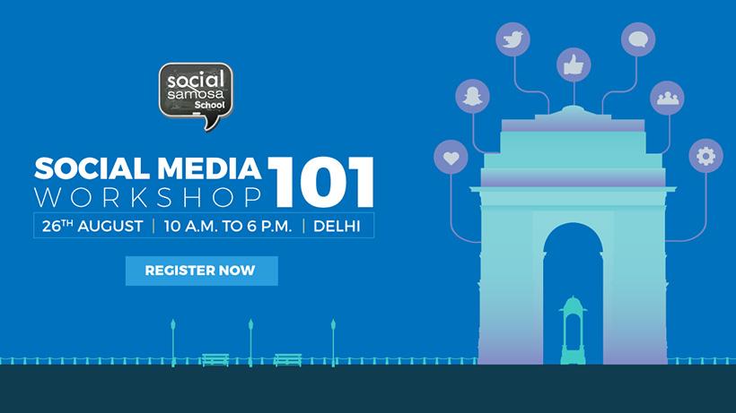 Social Media 101 workshop 26-AUG-delhi